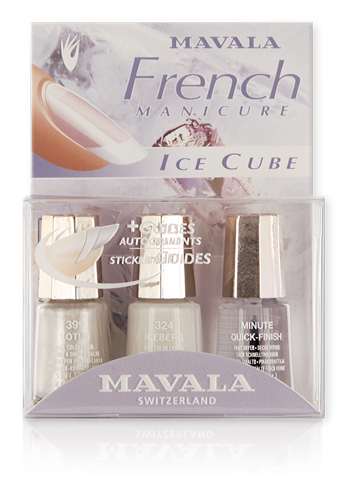 Kit French Manicure Ice Cube