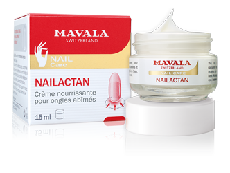 Nutritive cream for damaged nails.